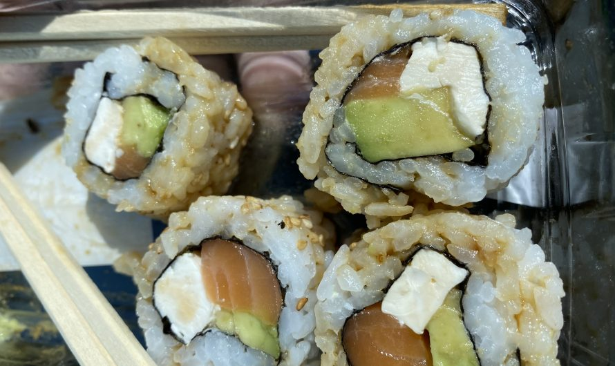 Another Marble Moved!  And….Sushi!