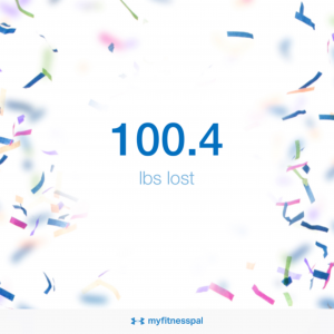 100.4 pounds lost